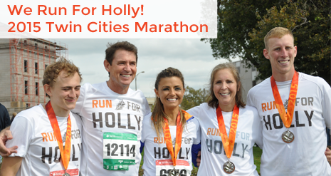 We Run For Holly Marathon Team 2016