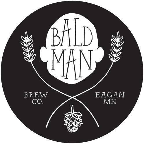 bald man brew co logo